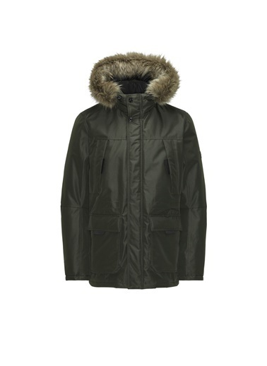 Jack & Jones Parka Hollow 12178864-Ros Yeşil